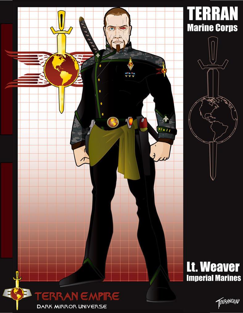 Lt Weaver Duty Uniform by stourangeau