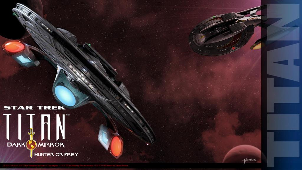 Star Trek Titan Hunter or Prey by stourangeau
