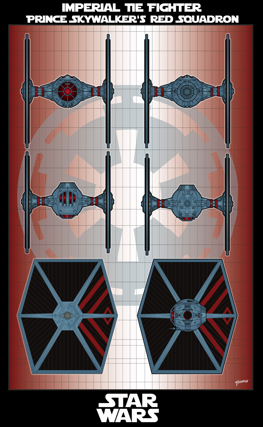 Imperial Red Tie Squadron by stourangeau