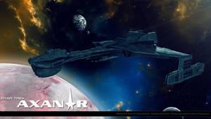 Star Trek Axanar Klingon D-6 by stourangeau
