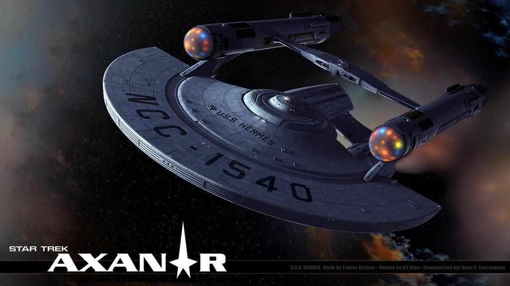 Star Trek Axanar U.S.S. Hermes Wallpaper 1 by stourangeau