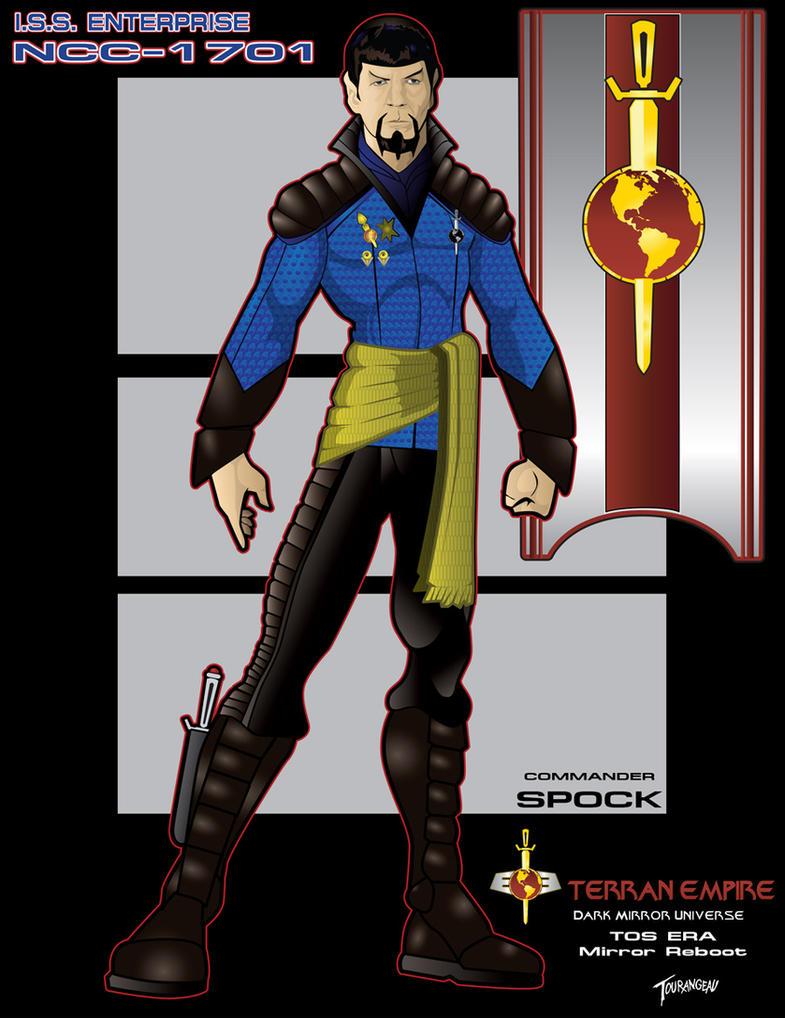 Star trek dark mirror commander spock by stourangeau on for Mirror janeway