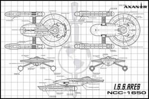 Star Trek Axanar I.S.S. Ares by stourangeau