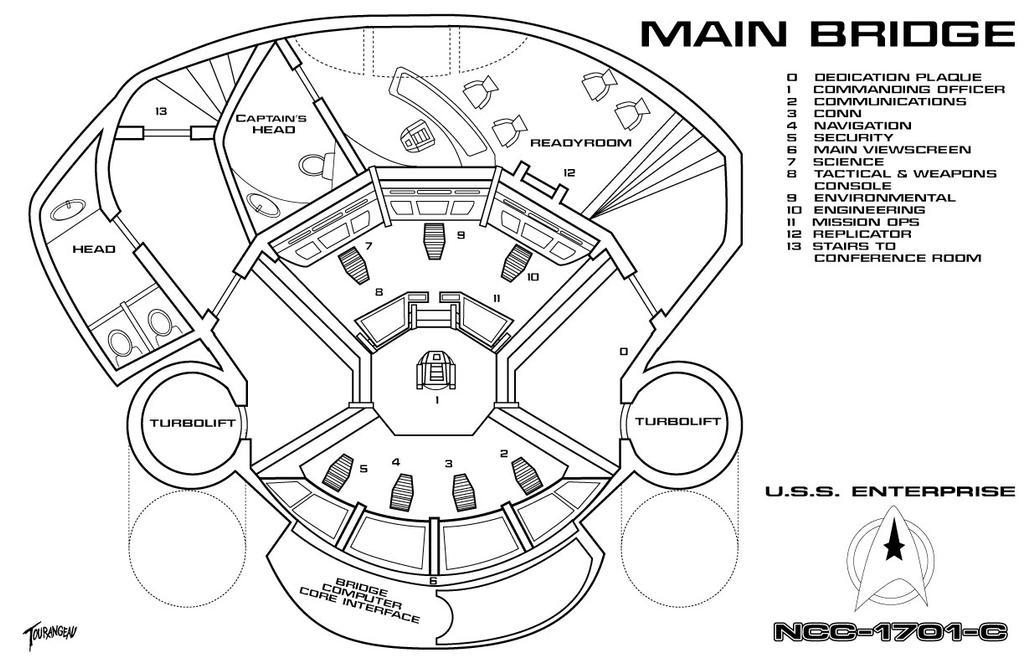 Star Trek Futures U S S Enterprise C Bridge 490043698 on Dr Office Floor Plans