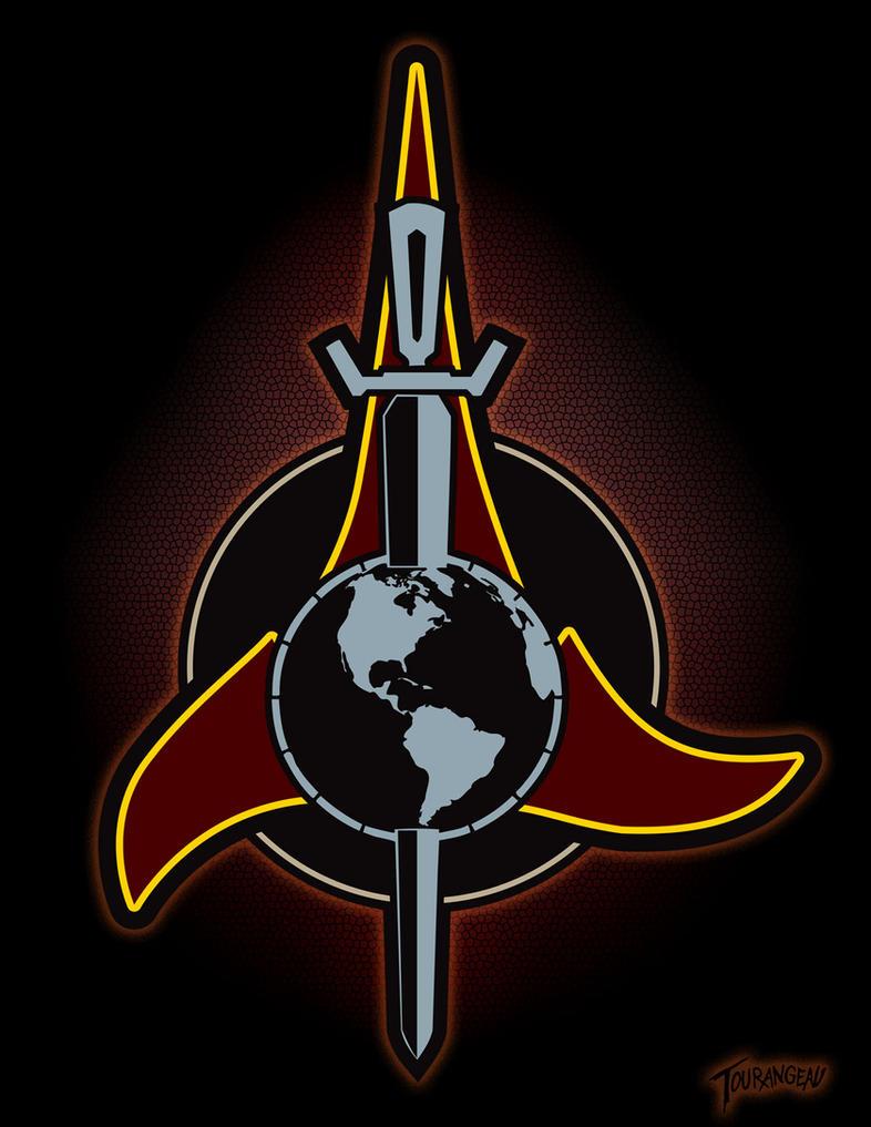 24th Century Klingon-Terran Empire Emblem by stourangeau