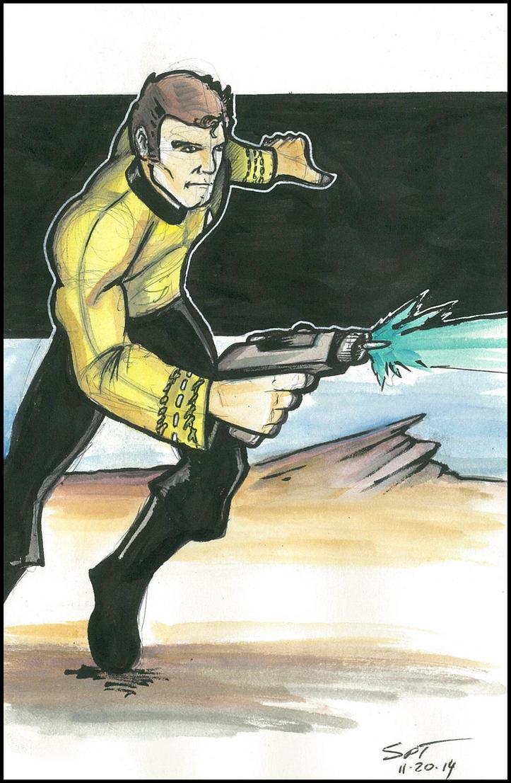 Star Trek Continues Kirk by stourangeau
