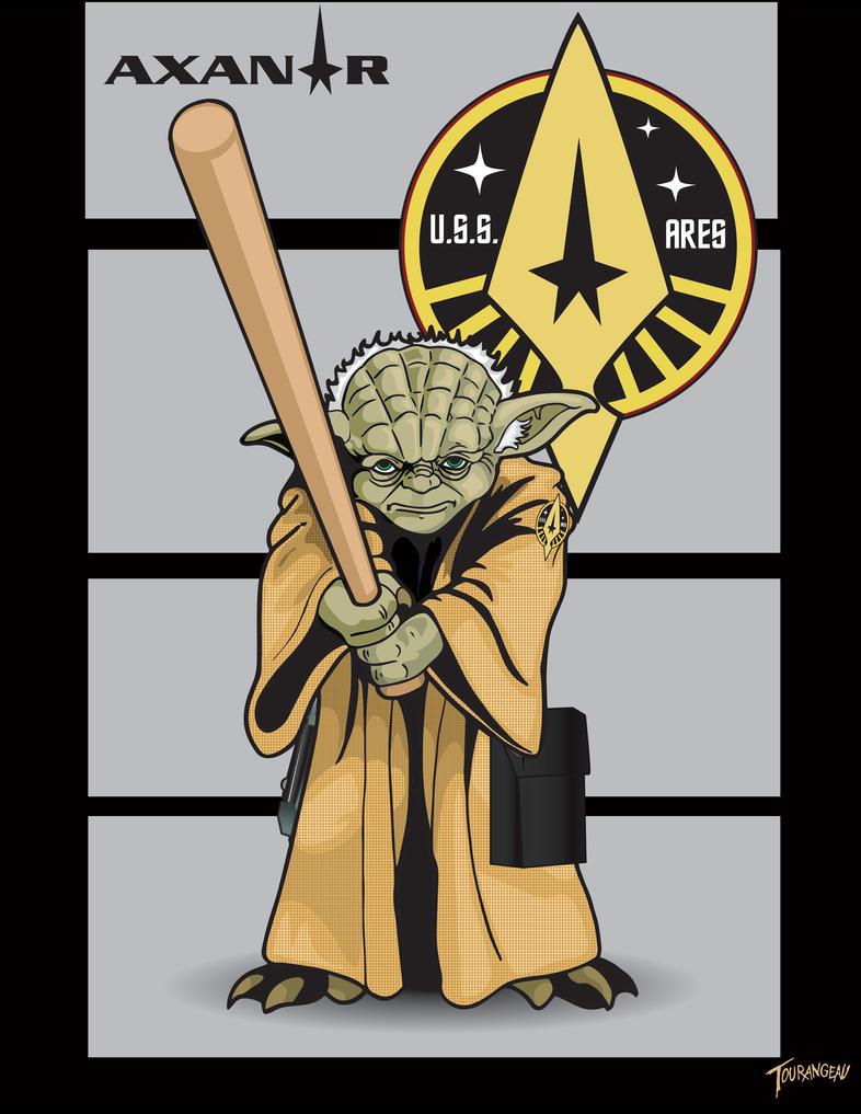 Axanar Yoda by stourangeau