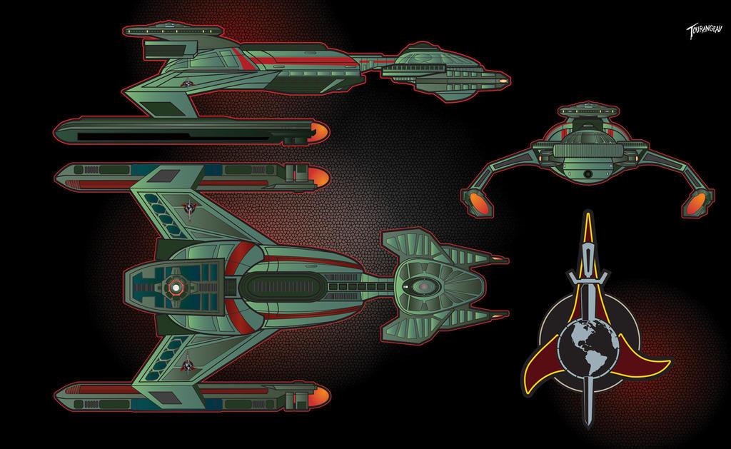 24th Century Ramses Class Starship by stourangeau