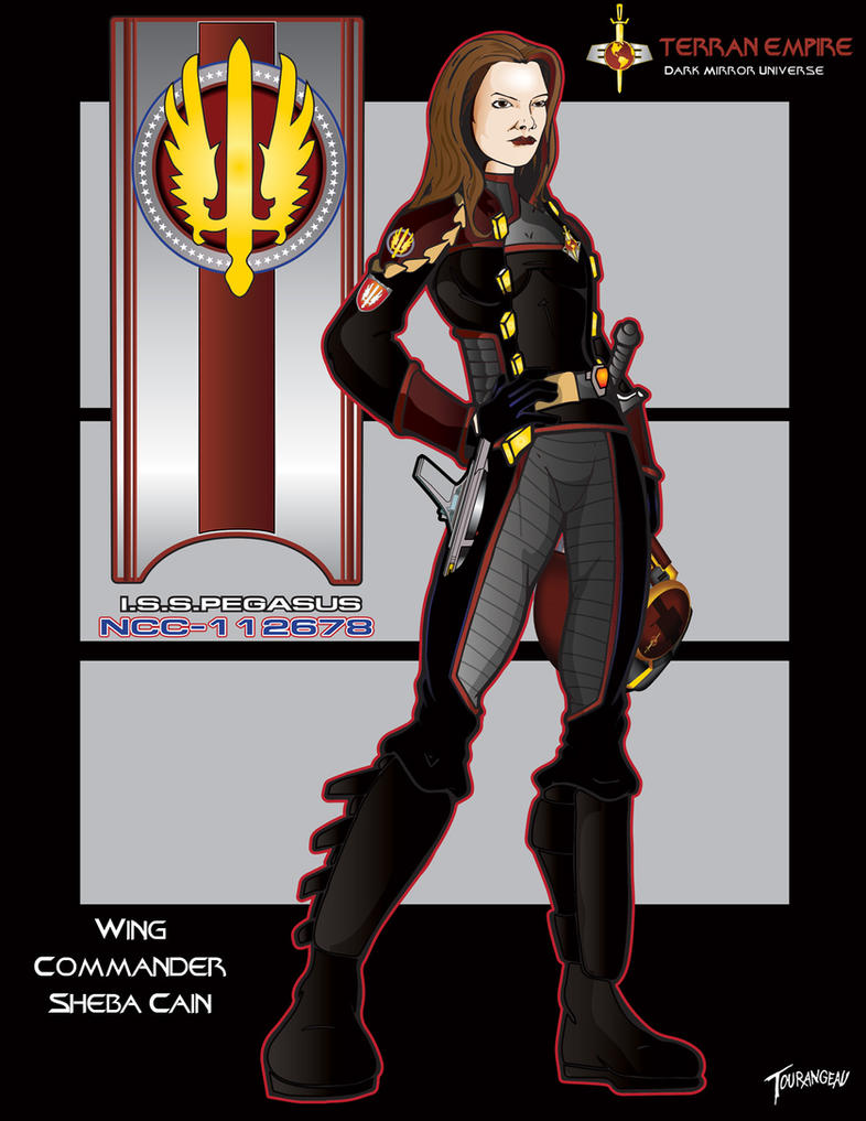 Wing Commander Sheba Cain by stourangeau