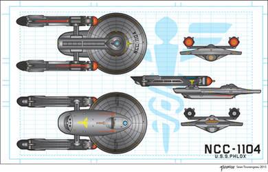 U.S.S.Phlox NCC-1104 by stourangeau