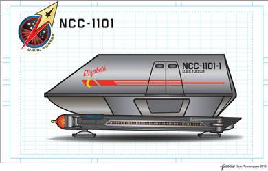 U.S.S.Tucker Shuttle Craft Elizabeth by stourangeau
