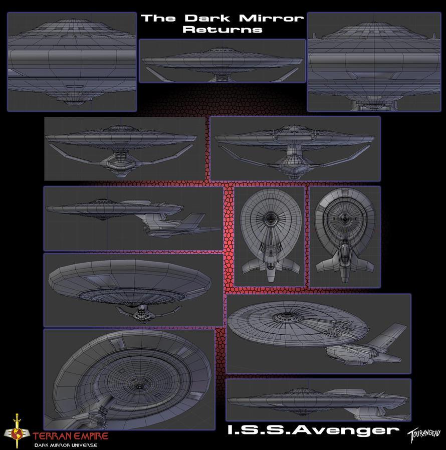 I.S.S. Avenger WIP by stourangeau