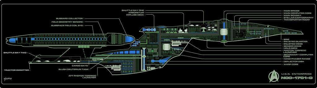 USS Enterprise C MSD By Stourangeau On DeviantArt