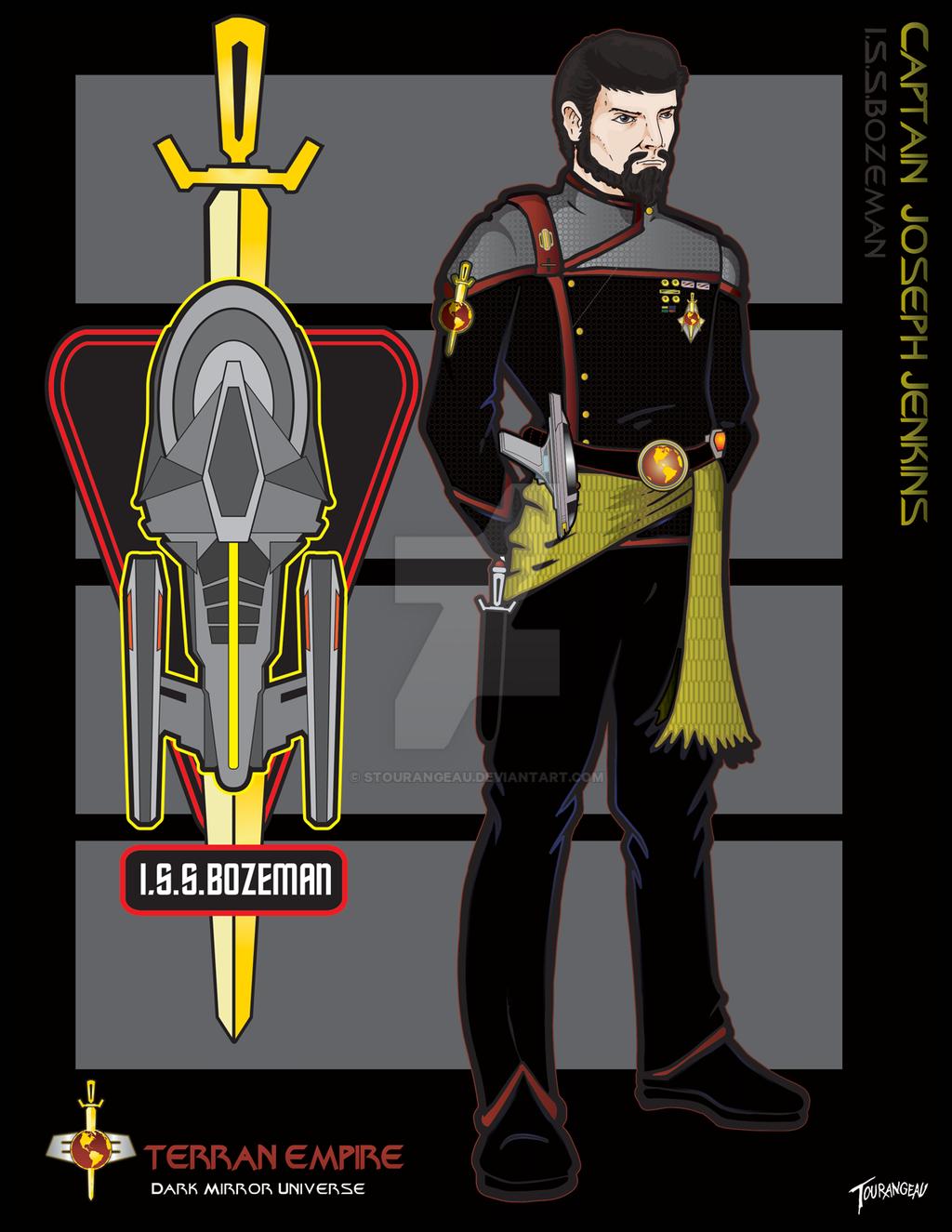 Captain Jenkins by stourangeau