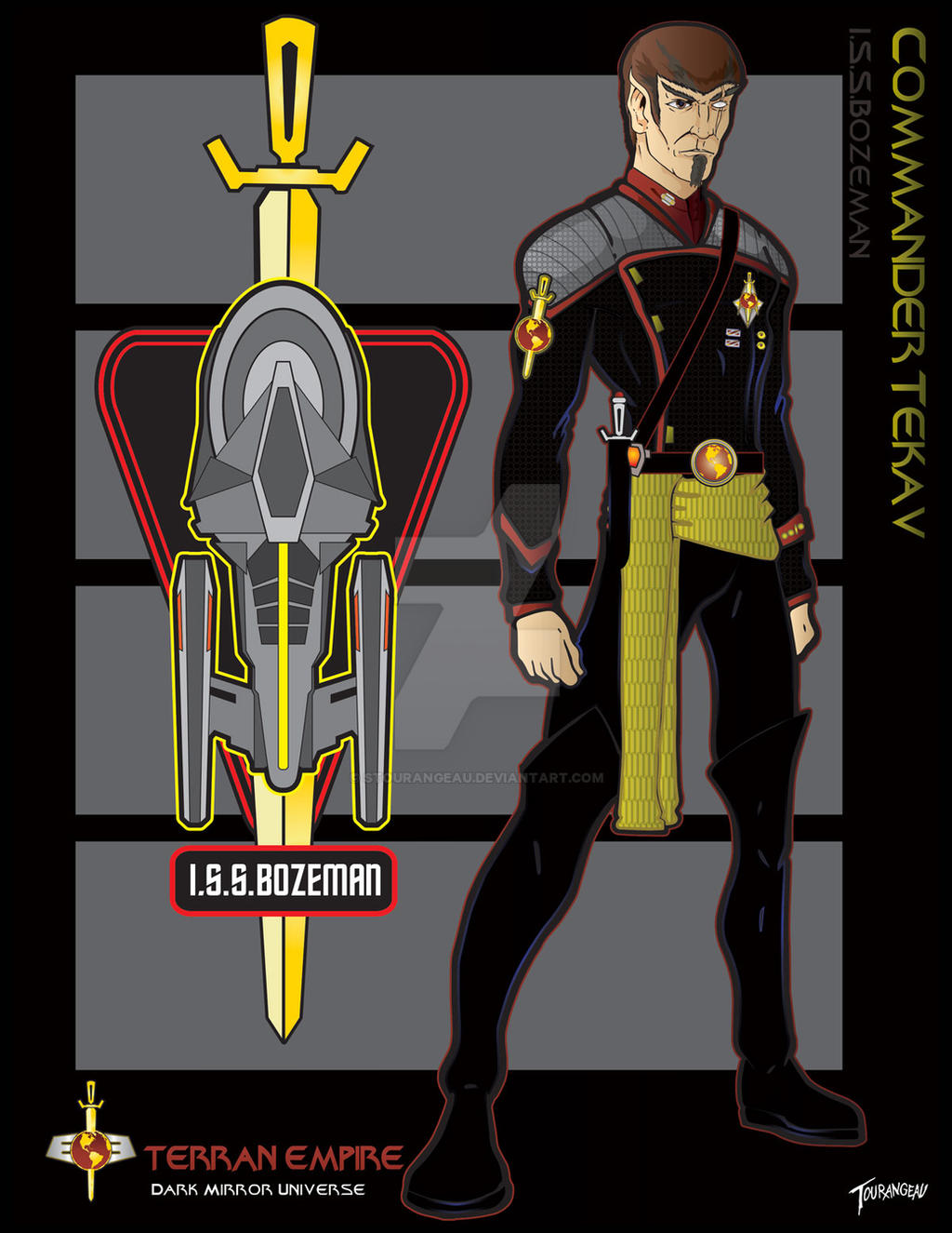 Commander Tekav by stourangeau