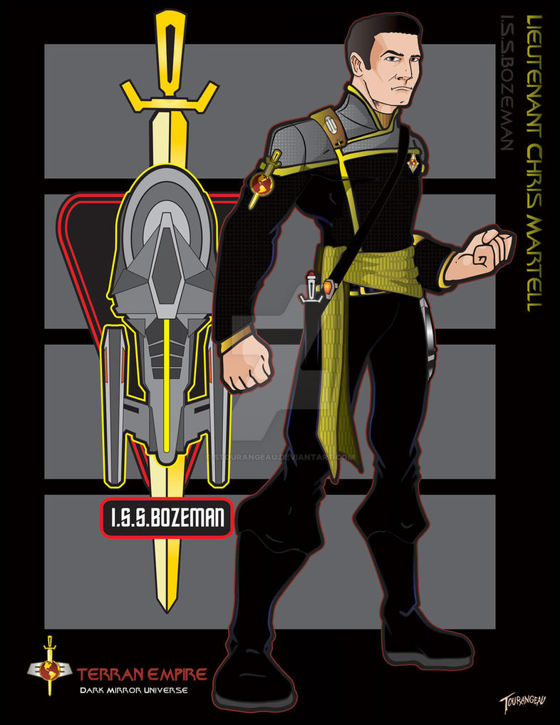 Lt Martell I.S.S.Bozeman by stourangeau