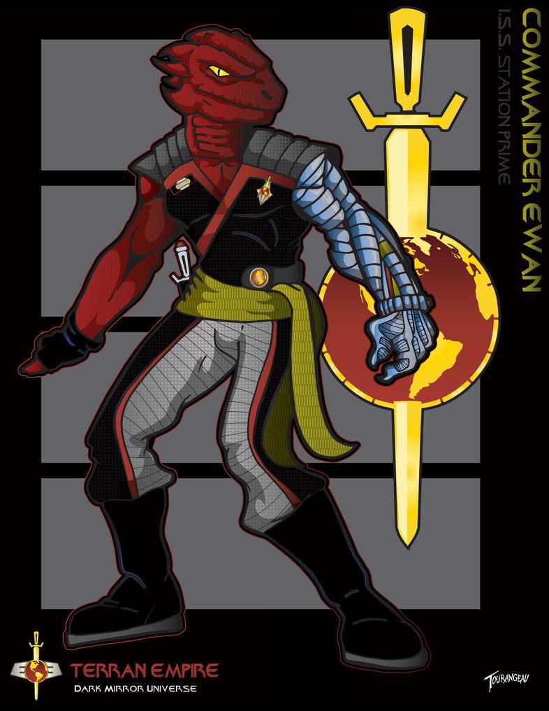 Commander Ewan by stourangeau