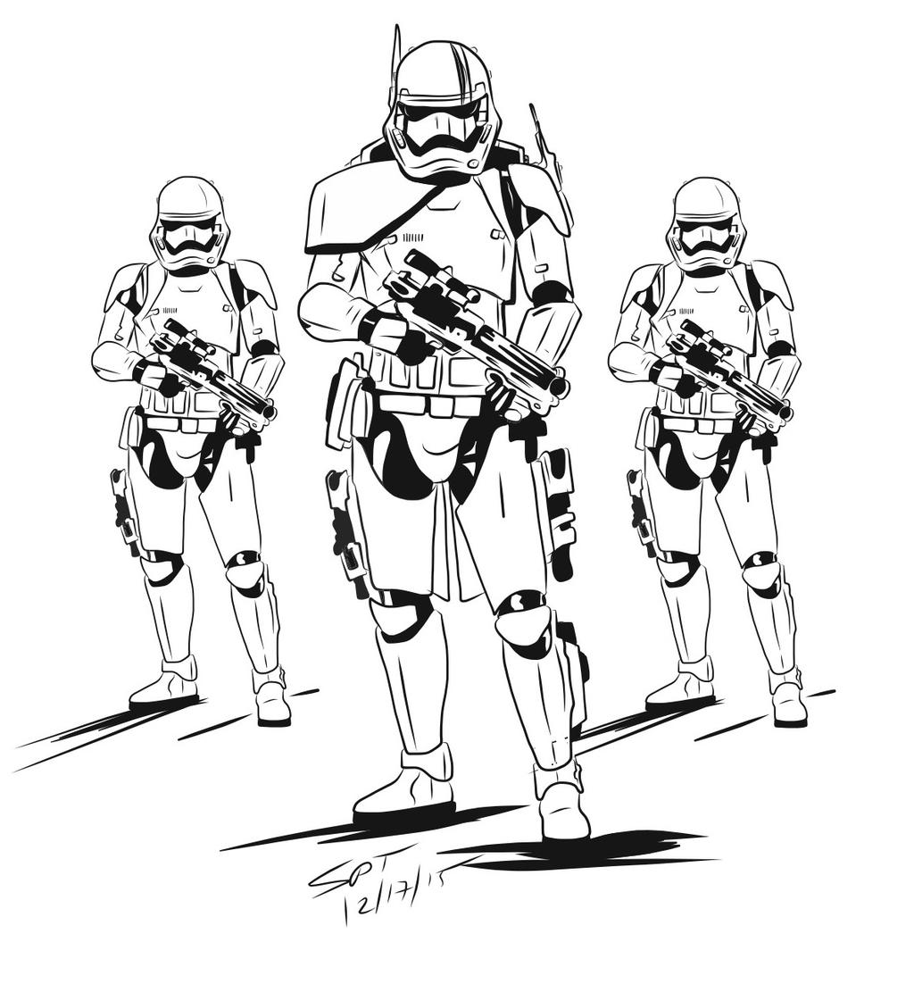 first order stormtrooper coloring pages - photo#20