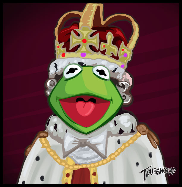 Royal Kermit by stourangeau