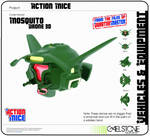 mosquito drone 3D
