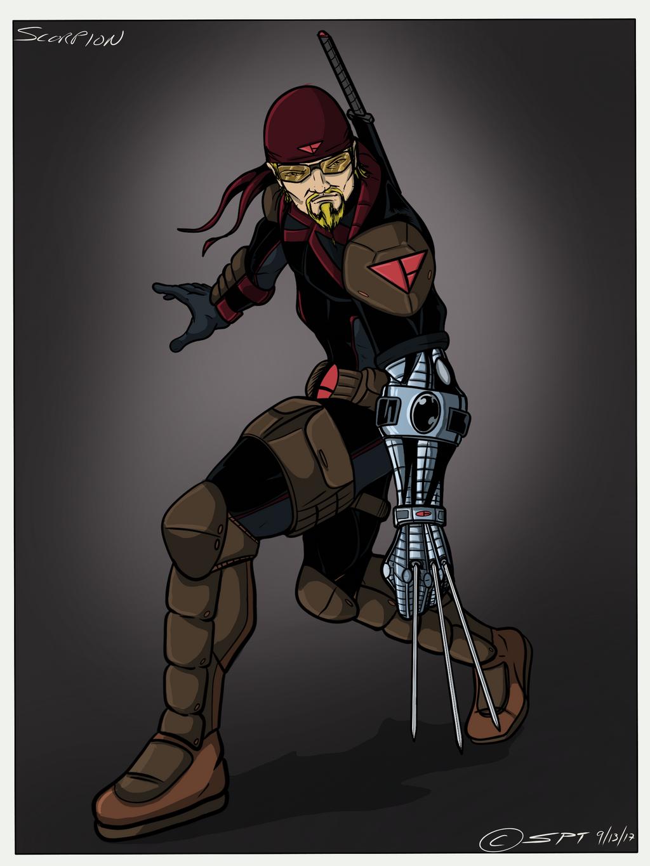 Alliance Universe Scorpion by stourangeau