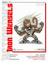 Action Mice Character Z3U5 by stourangeau