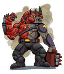Action Mice Character Concept Blitzkrieg