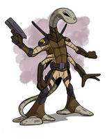 Action Mice Character Salammando