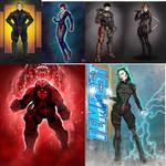 Alliance Universe Character concepts Dec 17