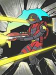 Iron Weasel Shock Trooper in ACTION