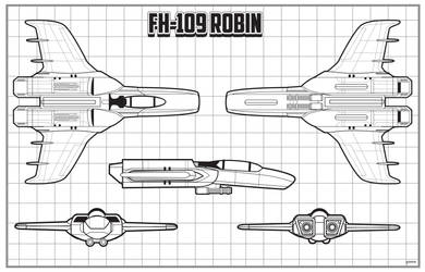 Earth-Link Origins FH-109 Robin schematic