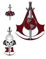 Dark Mirror Assassins Trek Badges by stourangeau