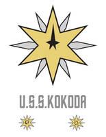 U.S.S.Kokoda crest by stourangeau