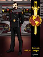 I.S.S. Vanguard Captain Jaeger by stourangeau