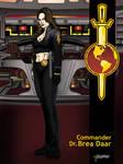 Commander Dr. Brea Daar