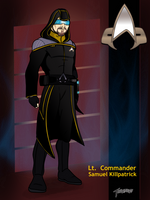 Lt Commander Killpatric by stourangeau