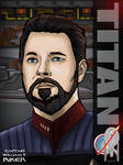 Captain Riker by stourangeau