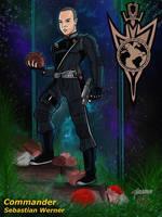 Commander Sebastian Werner by stourangeau