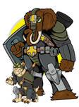 Pangea PD Officer Concepts Woolie and Sabber