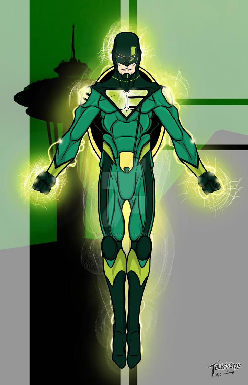 Emerald Enforcer by stourangeau