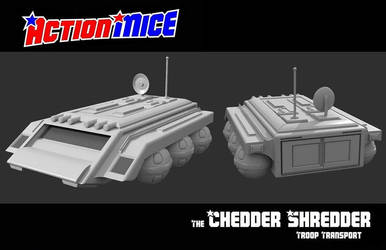 Action Mice Vehicle ChedderShredder