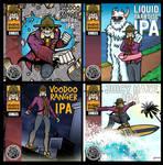 New Belguim Voodoo Ranger Comics Digital Covers