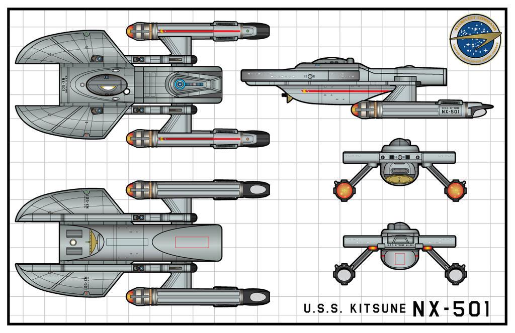 U.S.S.Kitsune by stourangeau