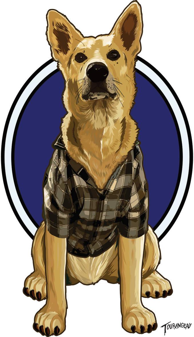 Dog Sticker by stourangeau