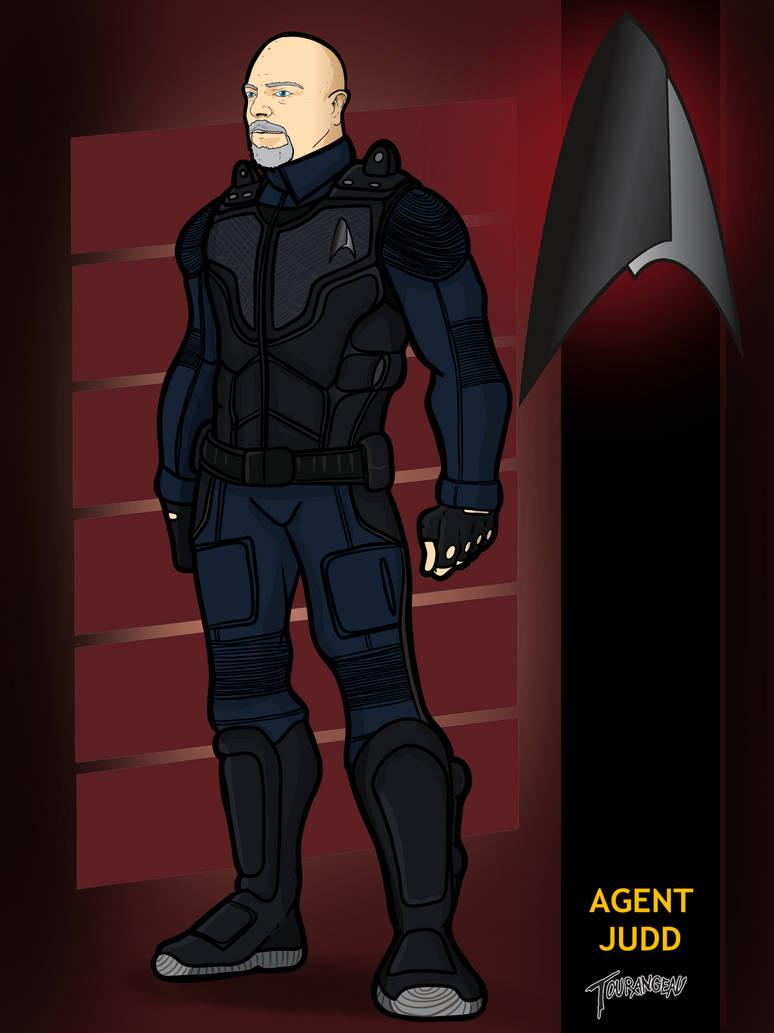 Agent Judd by stourangeau