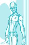 Commander Saru sketch