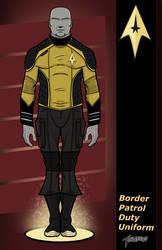 Border Patrol Duty Uniform updated by stourangeau