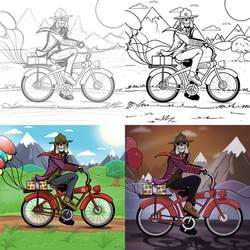 Voodoo Ranger birthday process by stourangeau