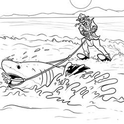 Shark Week Voodoo Inks