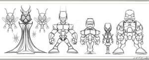 space cadet character concepts